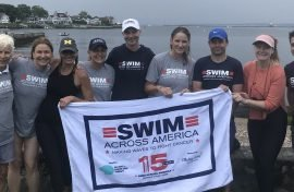 EAGLE RIDGE PARTICIPATES IN SWIM ACROSS AMERICA EVENT TO RAISE FUNDS FOR CANCER RESEARCH